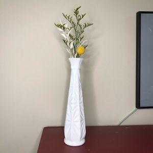 Vintage Milk Glass Bud Vase